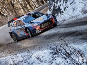 WRC Rally Monte Carlo: Thierry Neuville Leads