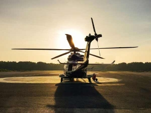 India's First Heliport In Delhi
