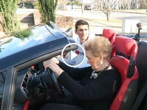 Watch Granny Drive A Gallardo Spyder