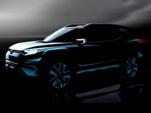 SsangYong XAVL SUV Teased Ahead Of Debut