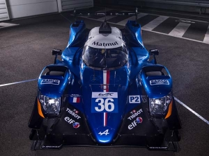 Alpine A470 World Endurance Championship Race Car