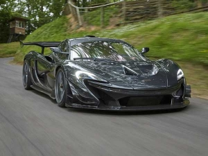 McLaren P1 LM Is The King Of Green Hell