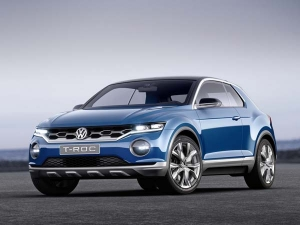 Volkswagen T-Roc Production Version Image Leaked