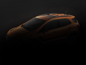 Ford EcoSport 'Storm' Teased