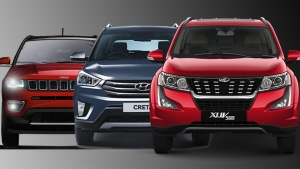 New Mahindra XUV500 Vs Jeep Compass Vs Hyundai Creta