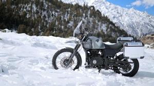 Royal Enfield Himalayan Sleet Now Available