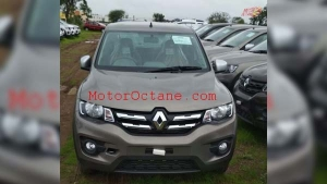 Renault Kwid Facelift Spotted In India — To Be Launched