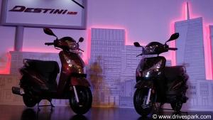 Hero Destini 125 Launched In India