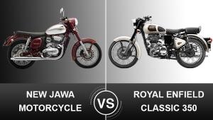 Jawa Vs Royal Enfield — A Brief Comparison