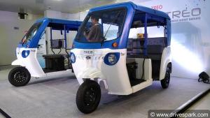 Mahindra Treo Electric Three-Wheeler Launched