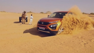 Watch The New Tata Harrier TVC Video!