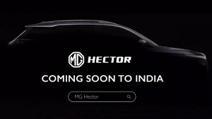 MG Hector New Video Teaser Released