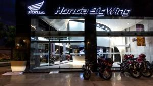 Honda Inaugurates BigWing Chain For Premium Motocycles