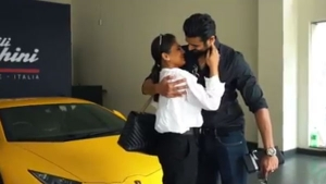 Husband Surprises Wife With A Lamborghini