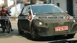 New Hyundai Elite i20 Spied Testing In India