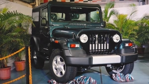 Mahindra Stops Production of The Thar With The Thar 700