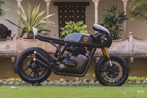 Royal Enfield Continental GT 650 Modified By Rajputana