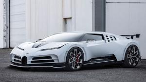 New Bugatti Centodieci Unveiled At Pebble Beach
