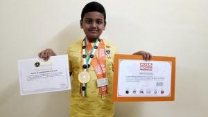 Chennai Kid Enters Asia Book Of Records