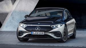 Mercedes-Benz EQS Luxury Electric Vehicle Revealed