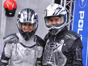 Gul Panag Shines With Polaris In Auto Expo