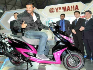 Yamaha Brings In John Abraham To Endorse Scooters