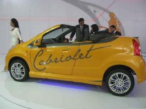A-Star Convertible Concept At Auto Expo
