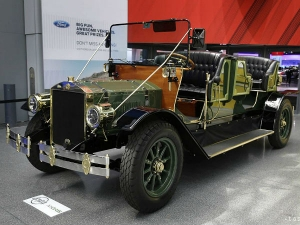 Horseless eCarriage Showcased At New York Auto Show