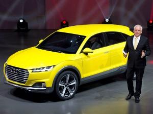 Audi TT Offroad Concept At Beijing Auto Show 2014
