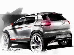 Citroen C-XR SUV Concept Revealed At Beijing Motor Show