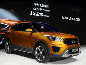 Hyundai ix25 Revealed At Beijing Motor Show