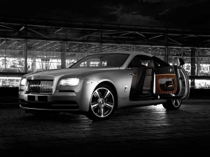 Rolls-Royce Wraith Inspired From 'And The World Stood Still' Movie