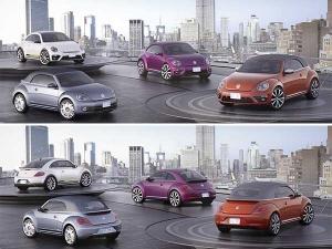 2015 New York Auto Show: Volkswagen Beetle In 4 New Avatars