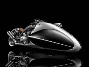 BMW Apollo Streamliner Motorcycle Designed By Mehmet Doruk Erdem