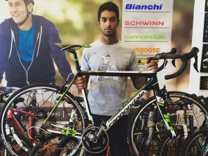Cannondale With Track & Trail Support CS Santosh For Dakar 2016