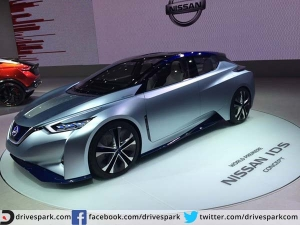 Nissan Unveils The IDS Concept (Electric Vehicle) At Tokyo Motor Show