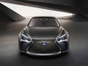 Lexus LF-FC Fuel Cell Sedan Previewed At Tokyo Motor Show