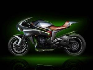 Kawasaki Spirit Charger Debuts At 2015 Tokyo Motor Show