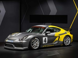 Track Focused Porsche Cayman GT4 Clubsport Launched in LA  - Photos