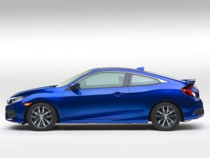 Production Ready Honda Civic Coupe Unveiled In LA -  Photos