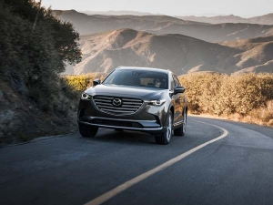 Mazda Unveils Turbocharged CX-9 Update in LA -  Photos