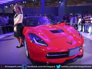 Auto Expo 2016: Chevrolet Corvette Stingray Growls its Way Into India