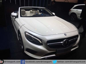 Mercedes Raises The Auto Expo Style Quotient With New S-Class Cabriolet