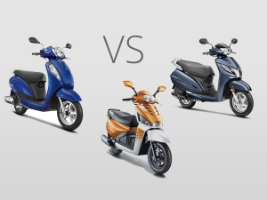 Scooter War: Suzuki Access 125 vs Honda Activa 125 vs Mahindra Gusto 125