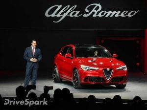 Los Angeles Auto Show 2016: Alfa Romeo Stelvio SUV Unveiled