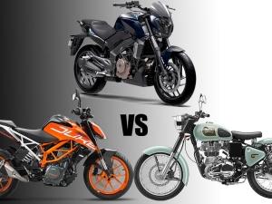 Bajaj Dominar 400 vs KTM 390 vs Royal Enfield Classic — Who Will Dominate?
