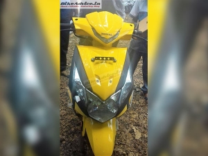 Spy Images: 2017 Honda Dio Facelift Spotted Ahead Of Launch