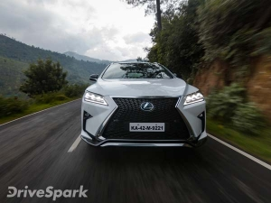 First Drive: Lexus RX 450h — Green Creds In A Sharp Suit
