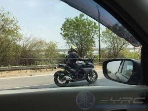 Spy Pics: Yamaha Fazer 250 Spotted Testing