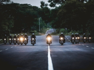 Royal Enfield Stealth Black Ridden By NSG Commandos Not Available For Sale Anymore
